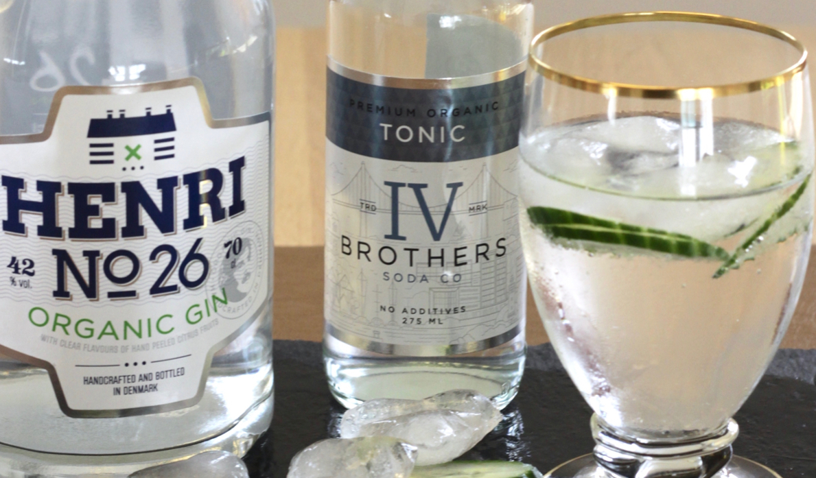 Gin & Tonic med agurk
