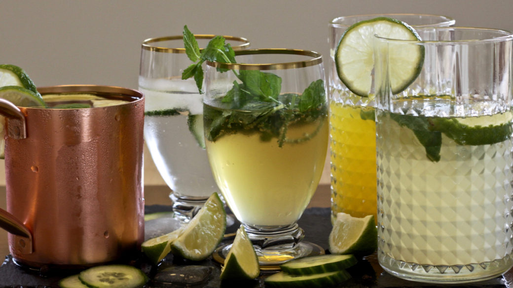 drinks med økologiske soda mixers fra IV BROTHERS