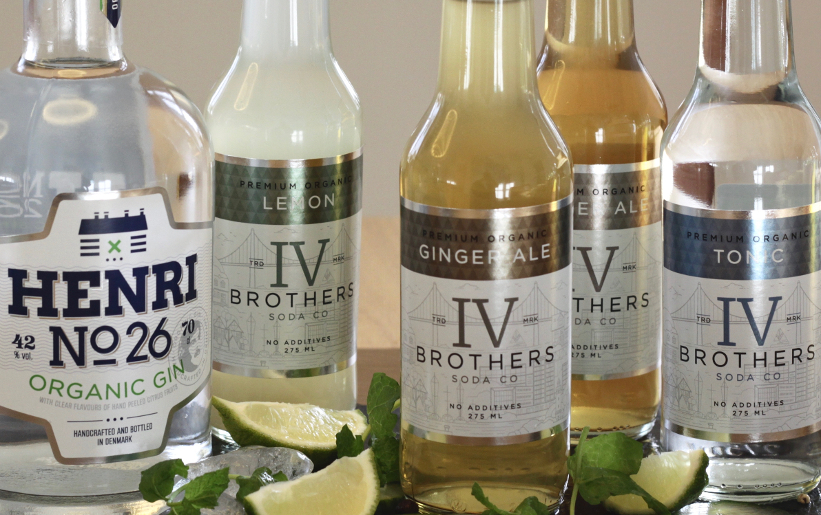 IV Brothers økologiske soda mixers